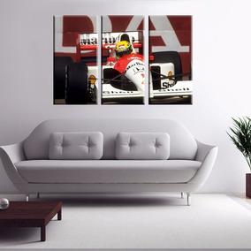 Ayrton Senna Quadro F1 Mclaren- Asm-06