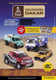 Colección Autos Dakar Del Comercio