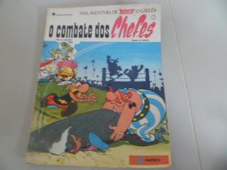 Mangá Hq Raridade Uderzo Asterix O Combate Dos Chefes