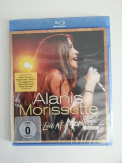 Blu-ray Alanis Morissette Live At Montreux 2012 - Importado!