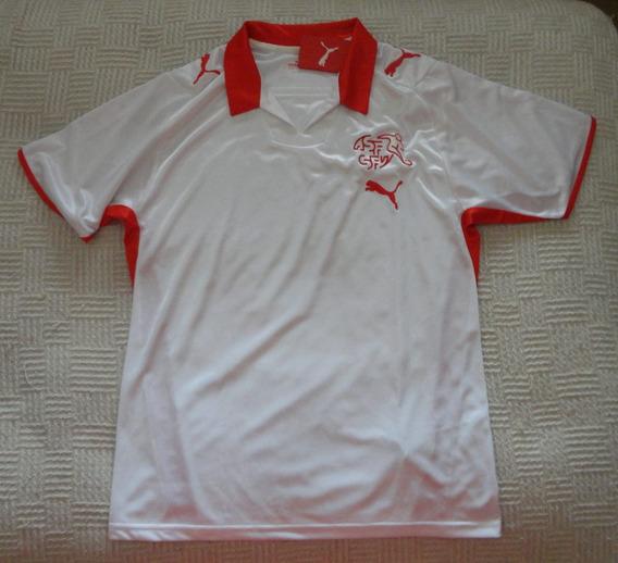 Camiseta De Suiza Marca Puma, Talle M