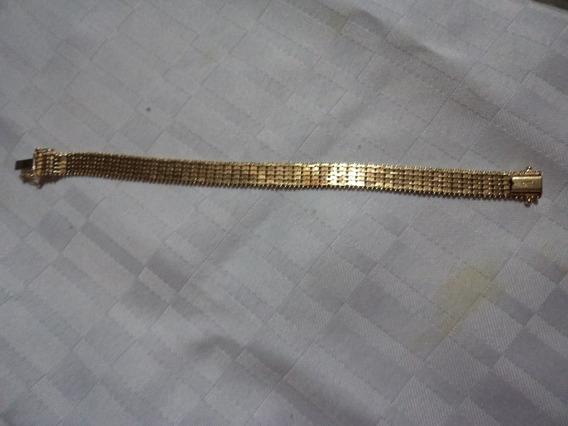 Pulsera Petatillo Oro 14 K