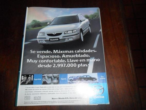Publicidad 1998 Automovil Mazda 626