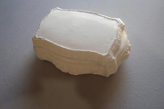 Kit Caixinhas Porta Joias, Em Branco (05 Peças).