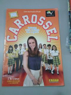 Álbum Carrossel Ano 2012 Vazio Com Pôster