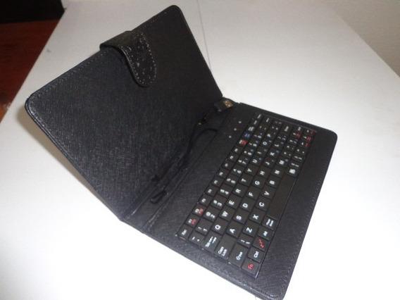 Capa Case Universal C/ Teclado Usb Tablet 7 Estampada