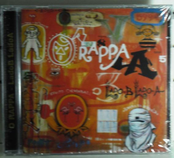 Cd O Rappa Lado B Lado A 2ª Edição Mpb Pop Rock Regaee