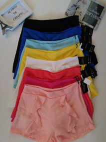 Shorts Em Crepe
