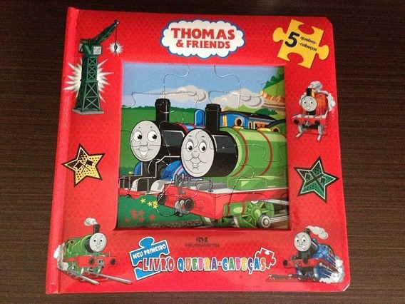 Livro Infantil Quebra-cabeças Thomas & Friends