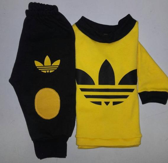 Pantalon Adidas Amarillo Ropa y Accesorios en Mercado