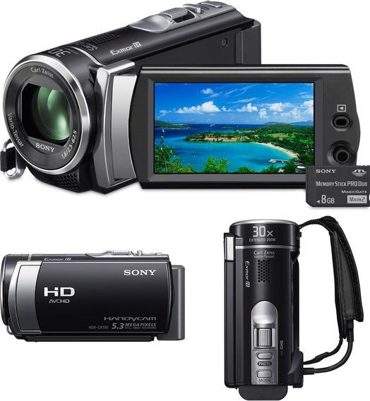 Recife Nova Super Filmadora Sony Fullhd Zoom Optico 30x