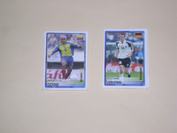 Lote Estampas Album Road To The Fifa World Cup 2002 Panini