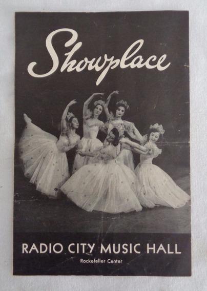 Catálogo Arte Balet Showplace Radio City Music
