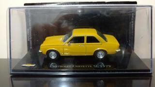 Miniatura Chevrolet Chevette Sl Bicudo 1979 1/43 + Revista.