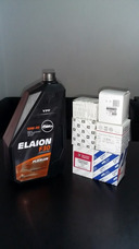 Cambio De Aceite Y Filtros! Elaion F10/f30/f50/f50e/f50d1