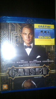 O Grande Gatsby - Blu Ray - Novo Lacrado