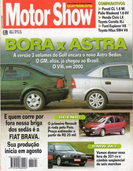 Motor Show Nº192 Bora Astra Bmw M3 Explorer V8 Hilux Sw4 V6