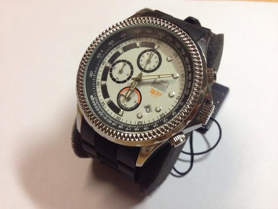 Relógio Masculino Dumont Original Aço Sy40072p Novo-vitrine