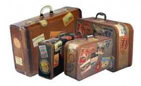 Adesivos Vinil Vintage Viagem Kit 03 Cartelas - Frete 12.90