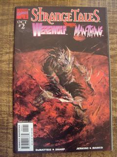 Strange Tales # 02 - Man-thing Werewolf - Importada
