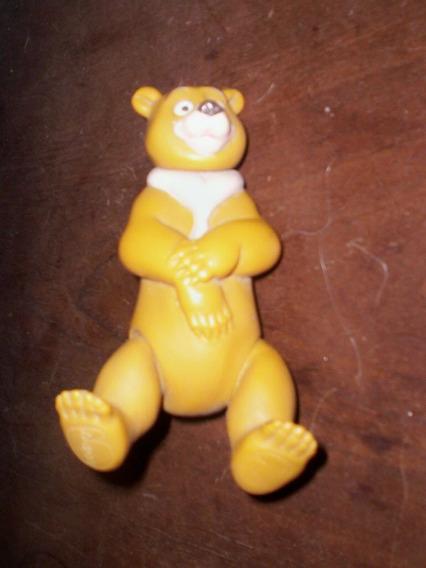 Urso Disney Antigo De Borracha