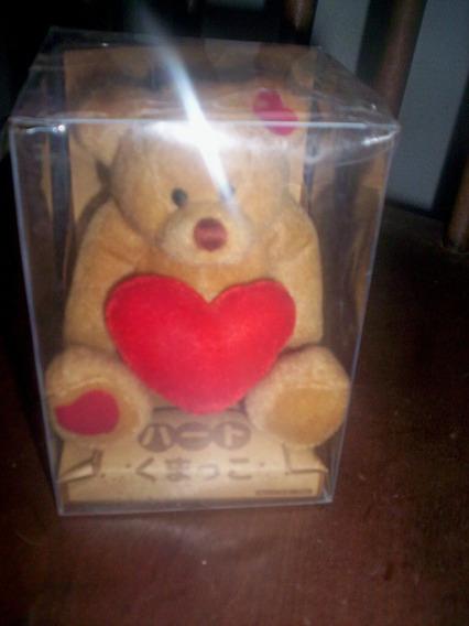 Ursinho De Pelúcia Coleção Japones Na Caixa