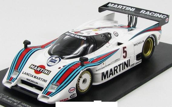 Miniatura Lancia Lc2 Winner Spa Martini Spark 1:18