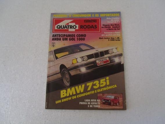 Quatro Rodas Nº 366 - Revista (janeiro/91)