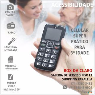Celular Dl Yc-110 , 1 Ano De Garantia, Números Grandes!!