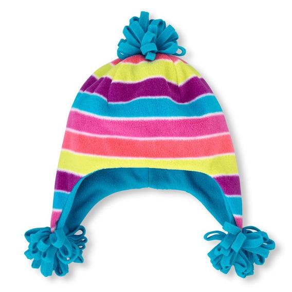 Gorro De Colores Para Niña Talla 4-7 Años Y 8+