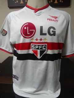 Camisa São Paulo Penalty Patch Fpf Tam G