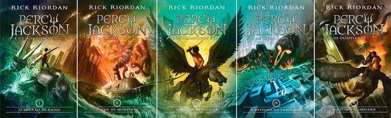 Coleção Percy Jackson & Os Olimpianos Nova Capa (5 Livros) #