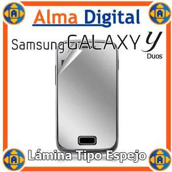 Lamina Protector Pantalla Espejo Samsung S6102 Young Duos