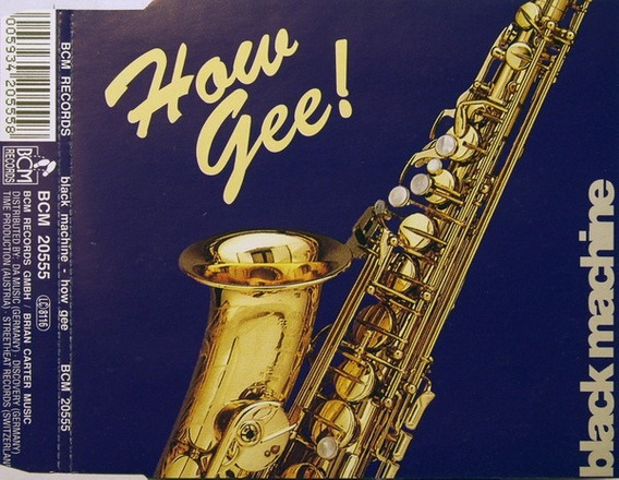 Cd Single Black Machine - How Gee