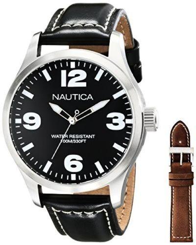 Relógio Nautica 2 Pulseiras Nad13500g