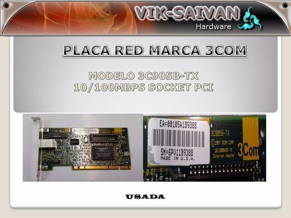 Placa De Red 3com 3c905b-tx 10/100 Pci 66