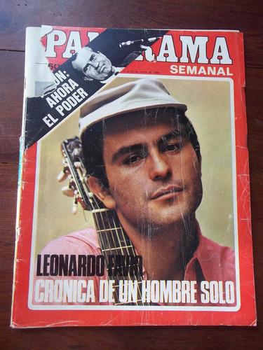 Panorama Revista 1969 Enero Leonardo Favio Fraganplat
