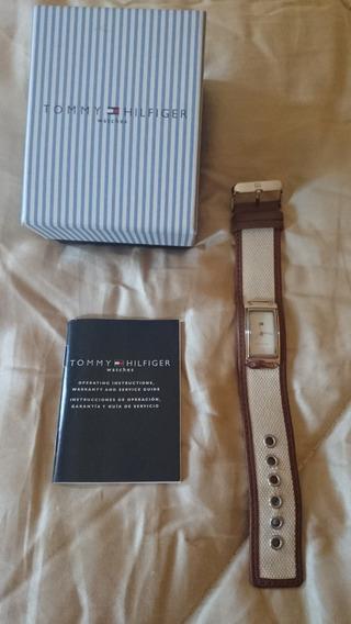 Relógio Tommy Hilfiger Pulseira De Tecido - Novo E Original