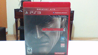 Metal Gear Solid 4 **para Ps3**