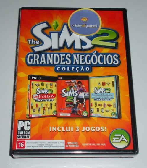 The Sims 2 Grandes Negócios | Pc Mídia Física Original