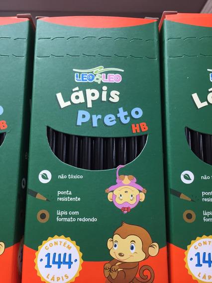 Lápis Preto Com 144 Unidades - Leo & Leo