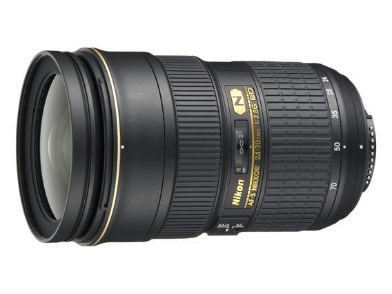 Lente Nikon Af-s 24-70mm F/2.8 N G ! Nova C/ Recibo