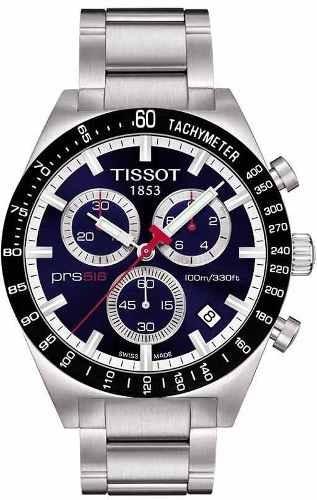 Relógio Tissot Prs 516 T044.417.21.041.00 Azul Aço Cronograf