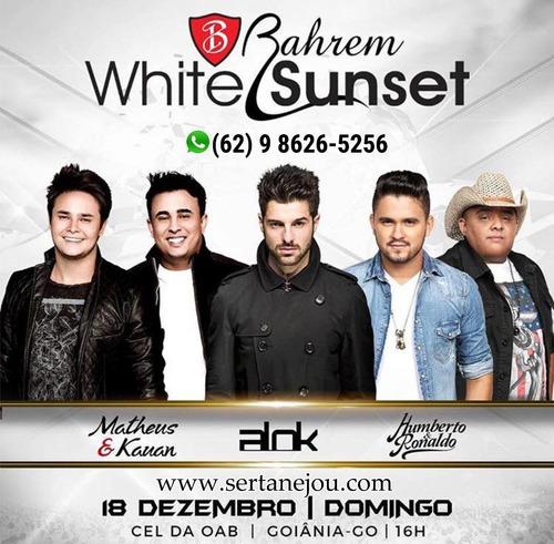 Ingressos Bahrem White Sunset