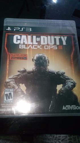 Call Of Duty Black Ops 3 Ps3,  Nuevo Y Sellado.