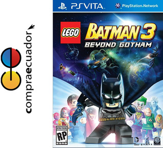 Lego Batman 3 Beyond Gotham Psvita Ps Vita Nuevos Sellados
