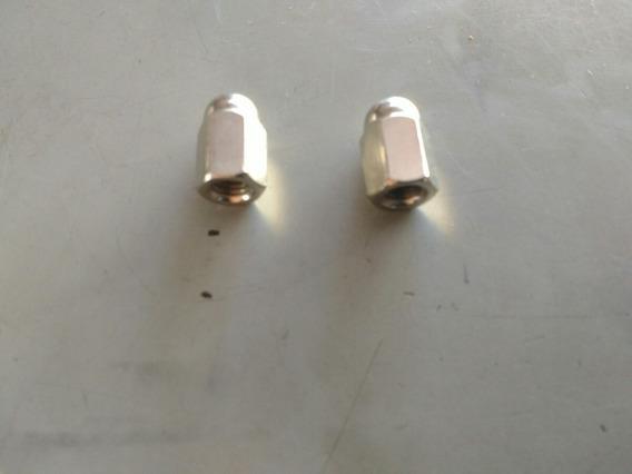 Porca Cega Do Escape 6mm Titan Cb 400 4pçs Com Frete