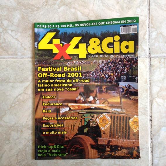 Revista 4x4 & Cia Ano 9 Jan2002 N102 Festival Brasil Plij