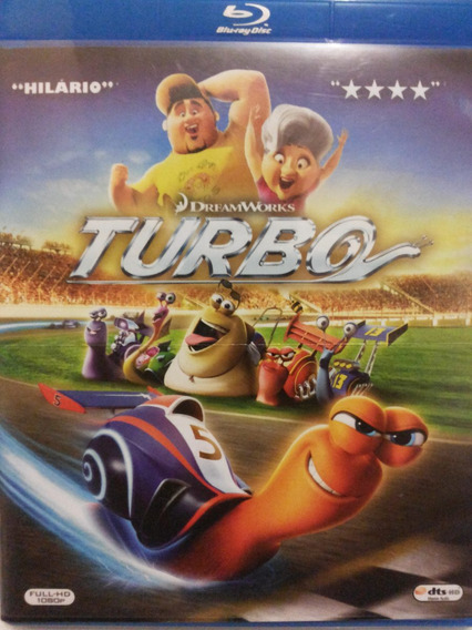Blu Ray Turbo 3 D 2 Discos