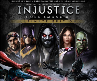 Pack Injustice Complet + Batman Origins + Mk Arcade Ps3